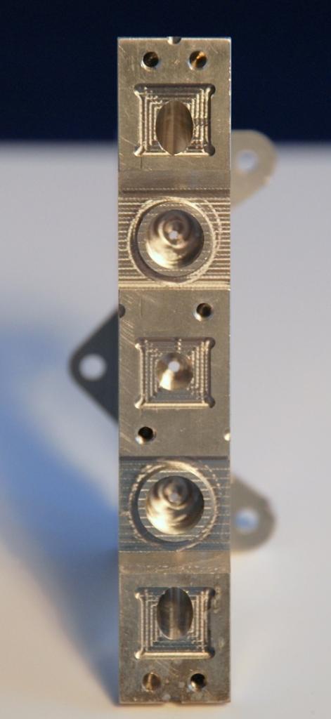 Holder for laser in eye surgery machine